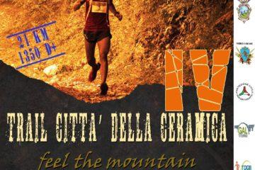 Trail Città della Ceramica – IV° Edizione