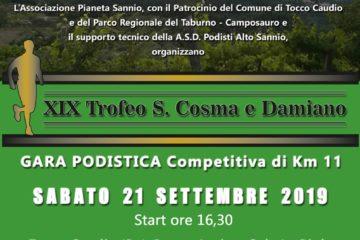 XIX Trofeo S. Cosma e Damiano